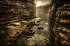 Μυστική διάβαση Στοκ εικόνες με δικαίωμα ελεύθερης χρήσης