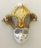 Μυστική μάσκα μεταμφιέσεων συναυλίας οπερών Στοκ εικόνα με δικαίωμα ελεύθερης χρήσης