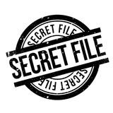 Μυστική σφραγίδα αρχείων Στοκ Φωτογραφίες