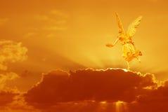Μυστικός άγγελος στον ουρανό στοκ φωτογραφία με δικαίωμα ελεύθερης χρήσης