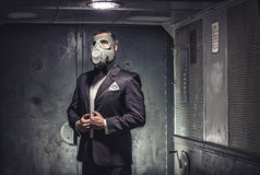Μυστικός πράκτορας, τρομοκράτης ή επιχειρηματίας της αποκάλυψης; Στοκ Εικόνες