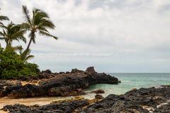 Μυστικός όρμος σε Maui στοκ εικόνες