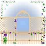 μυστικό κήπων διανυσματική απεικόνιση