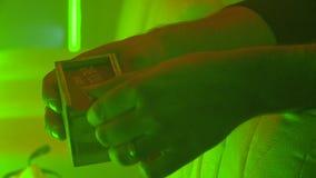 Μυστικό κιβώτιο αποκριών απόθεμα βίντεο