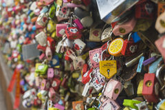 Μυστικό στην κλειδαριά Στοκ φωτογραφία με δικαίωμα ελεύθερης χρήσης