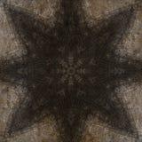 Μυστικό σύμβολο, όμορφη αφηρημένη διακόσμηση Στοκ Φωτογραφία