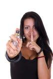 Μυστικό της αποπλάνησης γυναικών Στοκ φωτογραφία με δικαίωμα ελεύθερης χρήσης