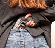 μυστικό όπλο Στοκ εικόνες με δικαίωμα ελεύθερης χρήσης