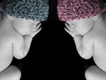 μωρά νεογέννητα Στοκ φωτογραφία με δικαίωμα ελεύθερης χρήσης