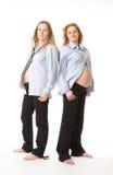μωρά που δύο γυναίκες στοκ φωτογραφία με δικαίωμα ελεύθερης χρήσης