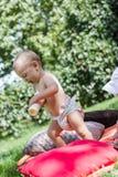 μωρά χαριτωμένα Στοκ Εικόνες