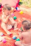 μωρά χαριτωμένα Στοκ Εικόνα