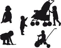 μωρά Στοκ Φωτογραφίες