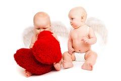 μωρό αγγέλων Στοκ Εικόνες