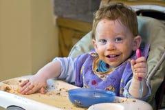 μωρό ακατάστατο στοκ εικόνες