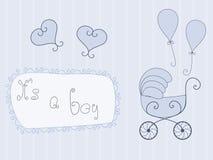 μωρό ανακοίνωσης ελεύθερη απεικόνιση δικαιώματος