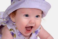 μωρό ευτυχές Στοκ εικόνες με δικαίωμα ελεύθερης χρήσης