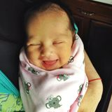 μωρό ευτυχές Στοκ εικόνα με δικαίωμα ελεύθερης χρήσης