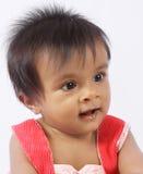 μωρό εύθυμος χαριτωμένος Ινδός Στοκ Εικόνες