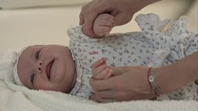 μωρό η μητέρα της Αγάπη Ευτυχή μητέρα και μωρό Στοκ Εικόνα