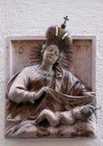 μωρό Ιησούς Mary Virgin Στοκ Εικόνες