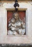 μωρό Ιησούς Mary Virgin Στοκ φωτογραφίες με δικαίωμα ελεύθερης χρήσης