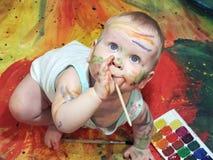 Μωρό και γκουας Στοκ Εικόνα