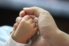 Μωρό και μητέρα Στοκ Εικόνες