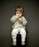 μωρό λίγη επιλογή μύτης Στοκ Φωτογραφίες