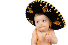 μωρό μεξικανός Στοκ Εικόνες