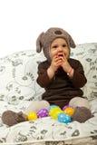 μωρό Πάσχα ευτυχές Στοκ Εικόνες