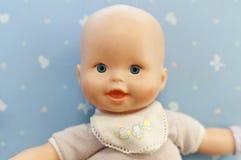 μωρό - πορτρέτο κουκλών Στοκ Εικόνες