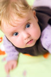μωρό που τρομάζουν Στοκ Εικόνες