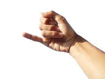 Μωρό ροζ - δάχτυλα Στοκ φωτογραφίες με δικαίωμα ελεύθερης χρήσης