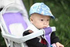 Μωρό στη μεταφορά Στοκ φωτογραφίες με δικαίωμα ελεύθερης χρήσης