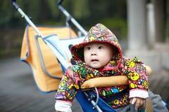 Μωρό στη μεταφορά Στοκ Εικόνα