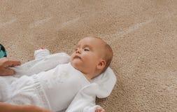 μωρό στοχαστικό Στοκ εικόνες με δικαίωμα ελεύθερης χρήσης
