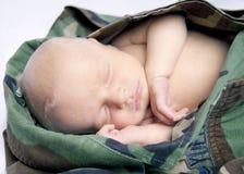 μωρό στρατιωτικό στοκ εικόνα