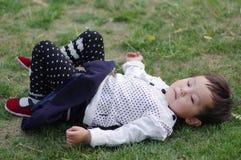 μωρό της Ασίας Στοκ Εικόνες