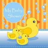 μωρό το ντους μου διανυσματική απεικόνιση