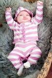 μωρό χαριτωμένο λίγα Στοκ Φωτογραφία