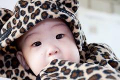 μωρό χαριτωμένο λίγα Στοκ Εικόνες
