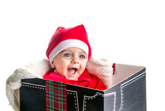 Μωρό Χριστουγέννων Στοκ Εικόνα