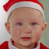 Μωρό Χριστουγέννων Santa στοκ εικόνες με δικαίωμα ελεύθερης χρήσης