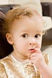 μωρό χρυσό Στοκ Εικόνες