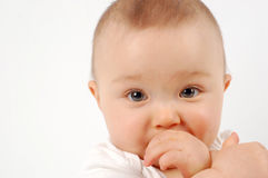 μωρό 21 ευτυχές Στοκ Εικόνα