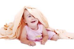 Μωρό Beautifull που απομονώνεται Στοκ Φωτογραφία
