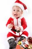 μωρό Claus λίγο santa Στοκ φωτογραφία με δικαίωμα ελεύθερης χρήσης