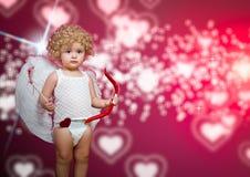 Μωρό cupid Στοκ Εικόνες