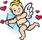 Μωρό Cupid απεικόνιση αποθεμάτων